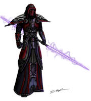 Pureblood Sith-Inquisitor by Threepwoody