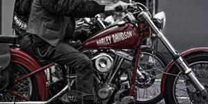 Red Harley by Threepwoody