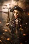 Steam pirate bride