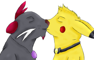 Pikachu and Dewott