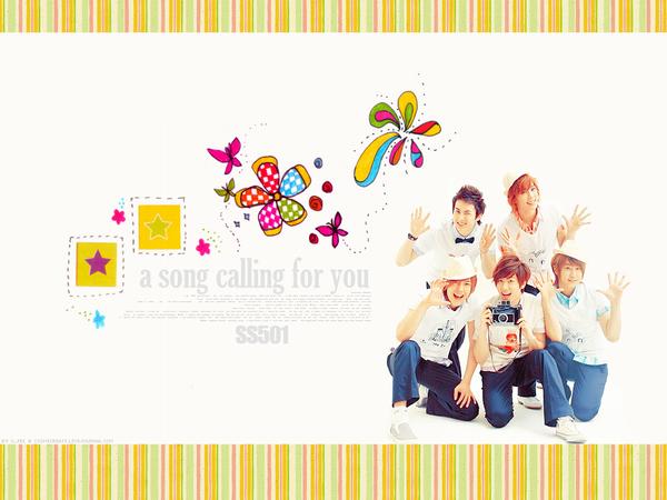 SS501 Wallpaper by x-fei