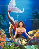 Ruby Mermaid by Tpryce