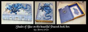 Med Blue Peacock book DA