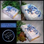 Light Blue Dragon on Medium Believe Book