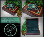 Green Dragon on Jewelry Box