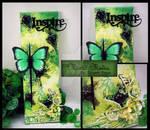 Green N Black Mixed Mdeia