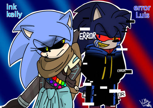sonictale ink kelly  and  terror luis