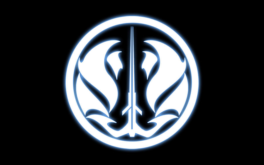 Savatron sabers jedi logo blue by julioreyes on deviantart