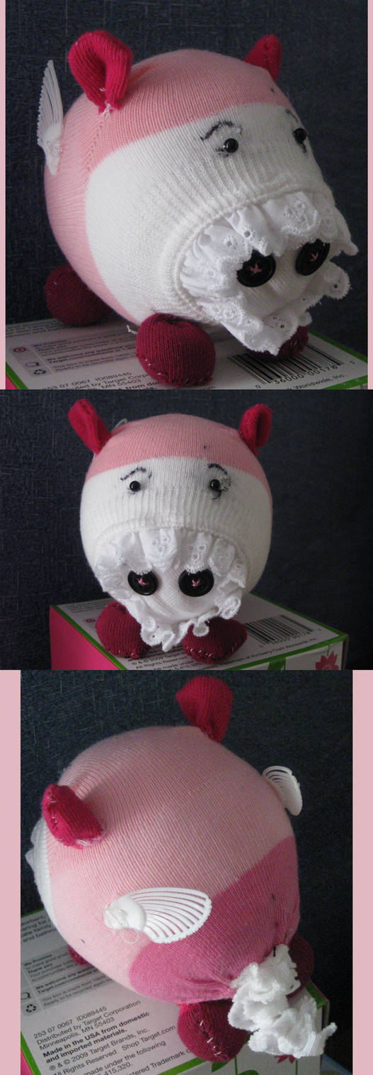 Flying Pig Pinky - Sock Doll