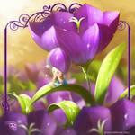 Flower Fairies: CAMPANULA