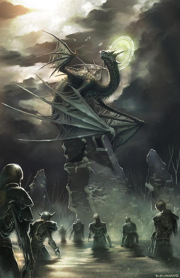 KEEPER OF THE DEAD by totmoartsstudio2