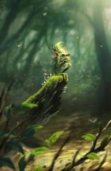 Green Duwende by totmoartsstudio2