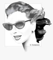 Sunglasses Portrait by kfairbanks