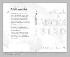 To Kill A Mockingbird book cover design by kfairbanks