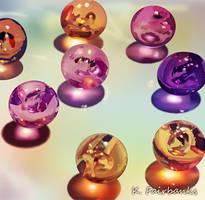 Spheres (digital drawing) by kfairbanks