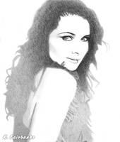 Rachel Weisz (pencil drawing) by kfairbanks