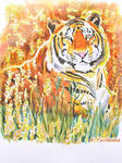 Tiger in a Field (painting)