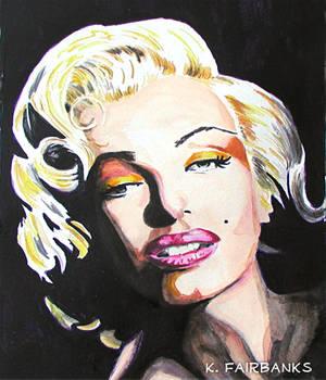 Marilyn Monroe Chiaroscuro (painting)