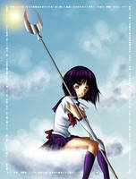 Sailor Saturn by TwinklePowderySnow