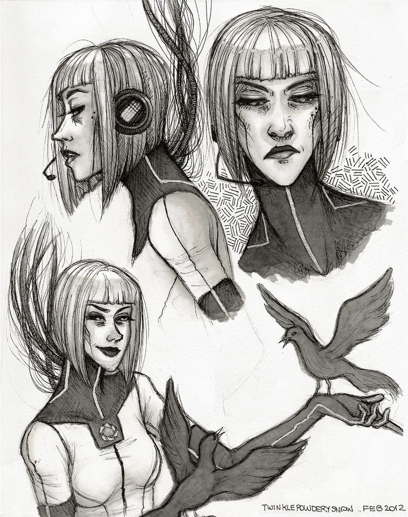 GLaDOS Drawings by TwinklePowderySnow on DeviantArt