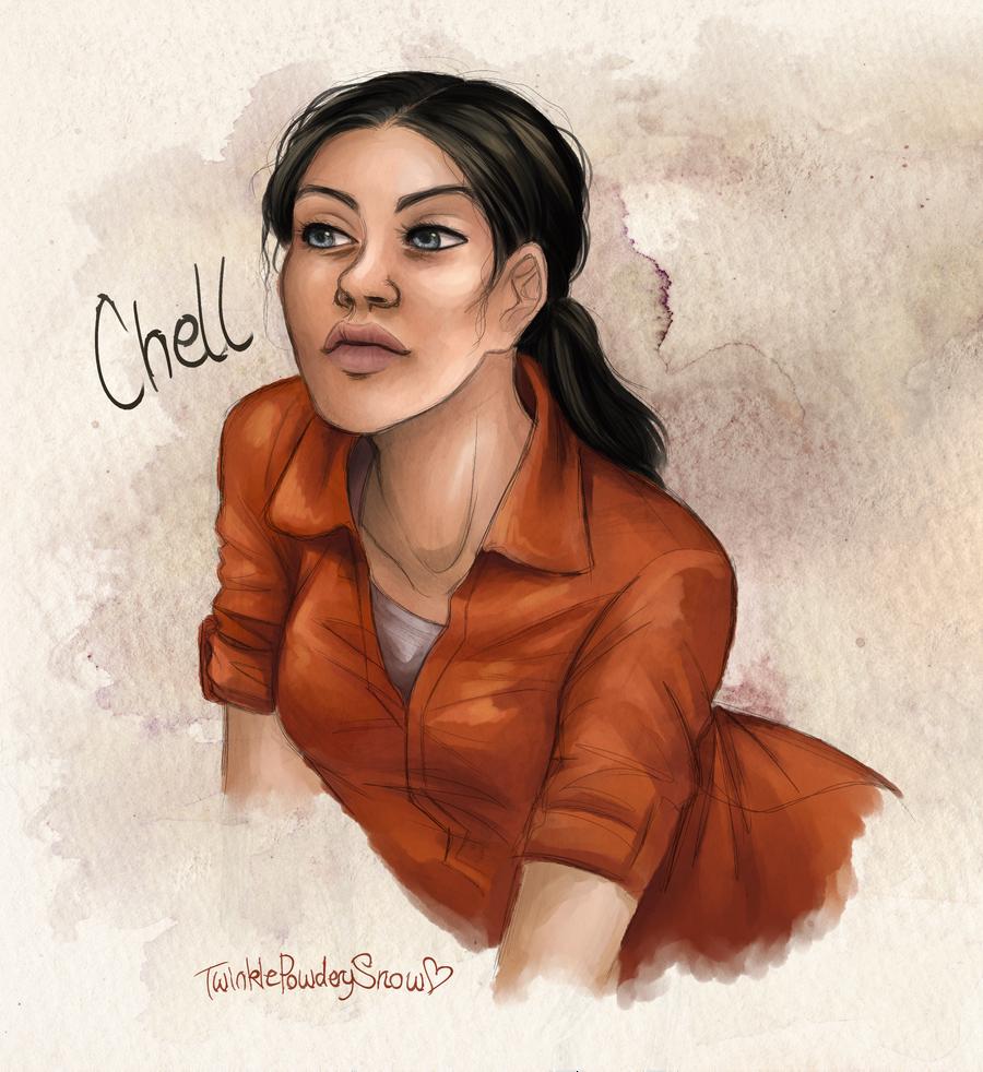 Chell by TwinklePowderySnow