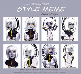 Style Meme with Android GLaDOS