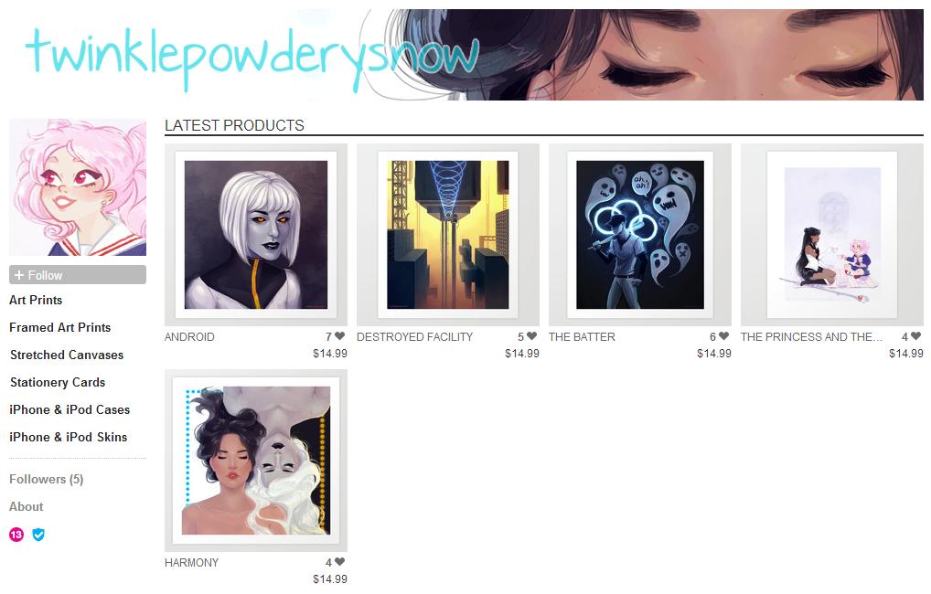 Printshop by TwinklePowderySnow