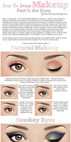 How to Draw Makeup - Part I: Eyes