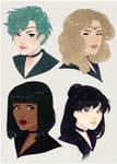 Outer Senshi Hairswap