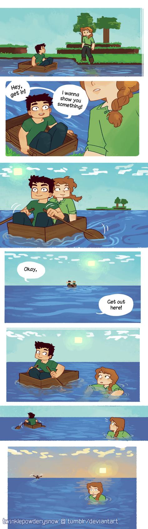 a boat ride by TwinklePowderySnow