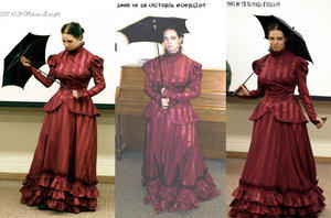 Eqos' Victorian Gown by HistoricCostume