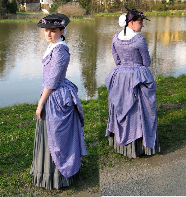 Robe A La Polonaise: Stahlroses Robe A La Polonaise By HistoricCostume On