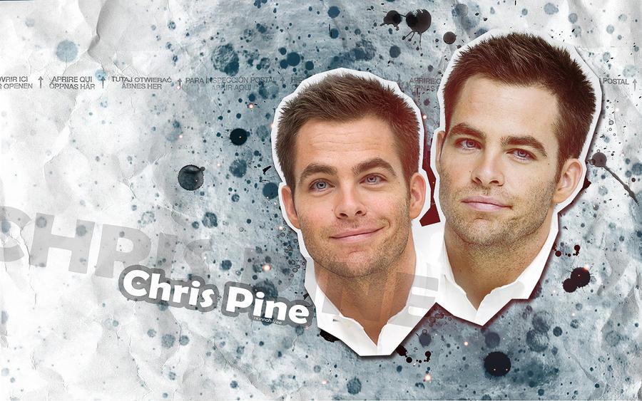 Chris Pine wallpaper by Hannah-Vee
