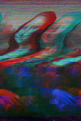 Mona Lisa glitch by Omletofon