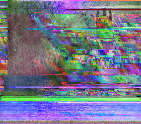 Monet's London Parliament glitch by Omletofon