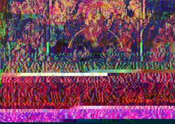 Memling's Last Judgement glitch, version 1 by Omletofon