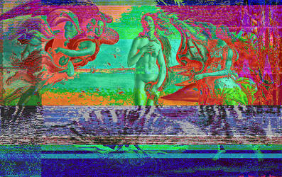 The Birth of Venus (Audio Editor glitch) by Omletofon