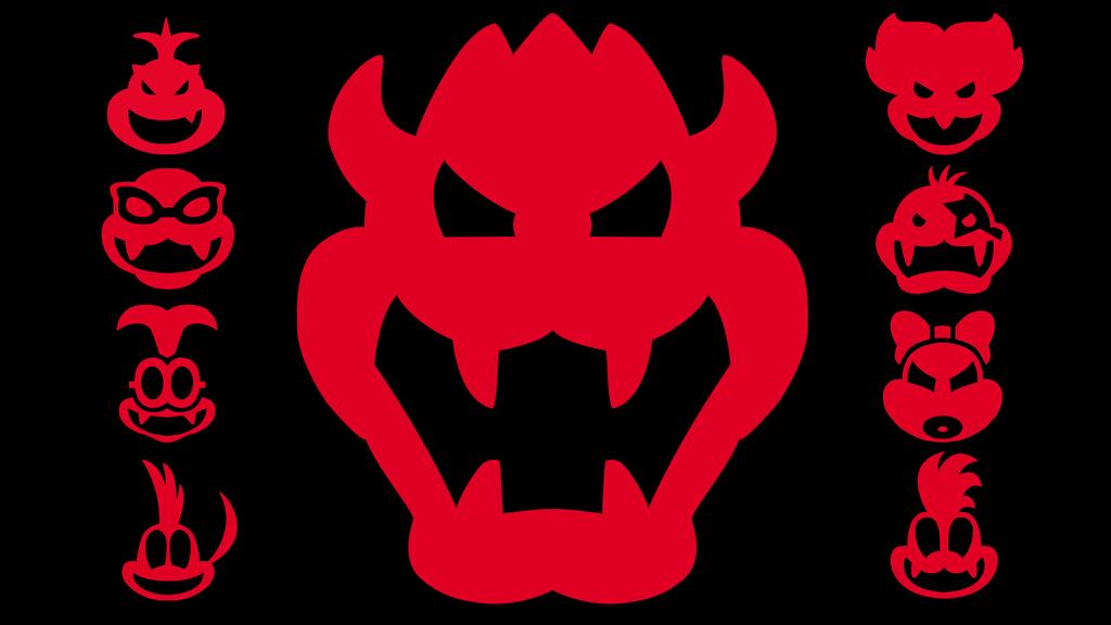 All the koopa symbols by jaggentlemann on deviantart