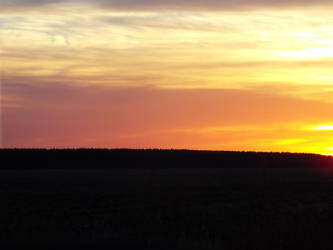 Just a october sunset in 2014 by lasair44