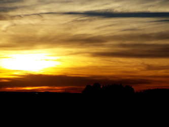 another october sunset by lasair44