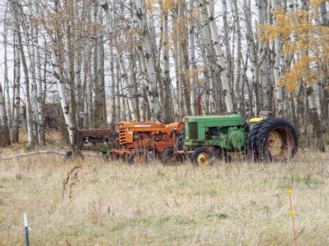 A collection of tractors