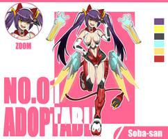[OPEN] Adoptable # 01 Type-01 [AUCTION} by Soba-SanPixelArt