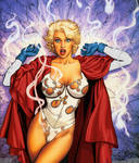 Power Girl Surprised PGversion