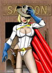 Power Girl Sheriff - Old West