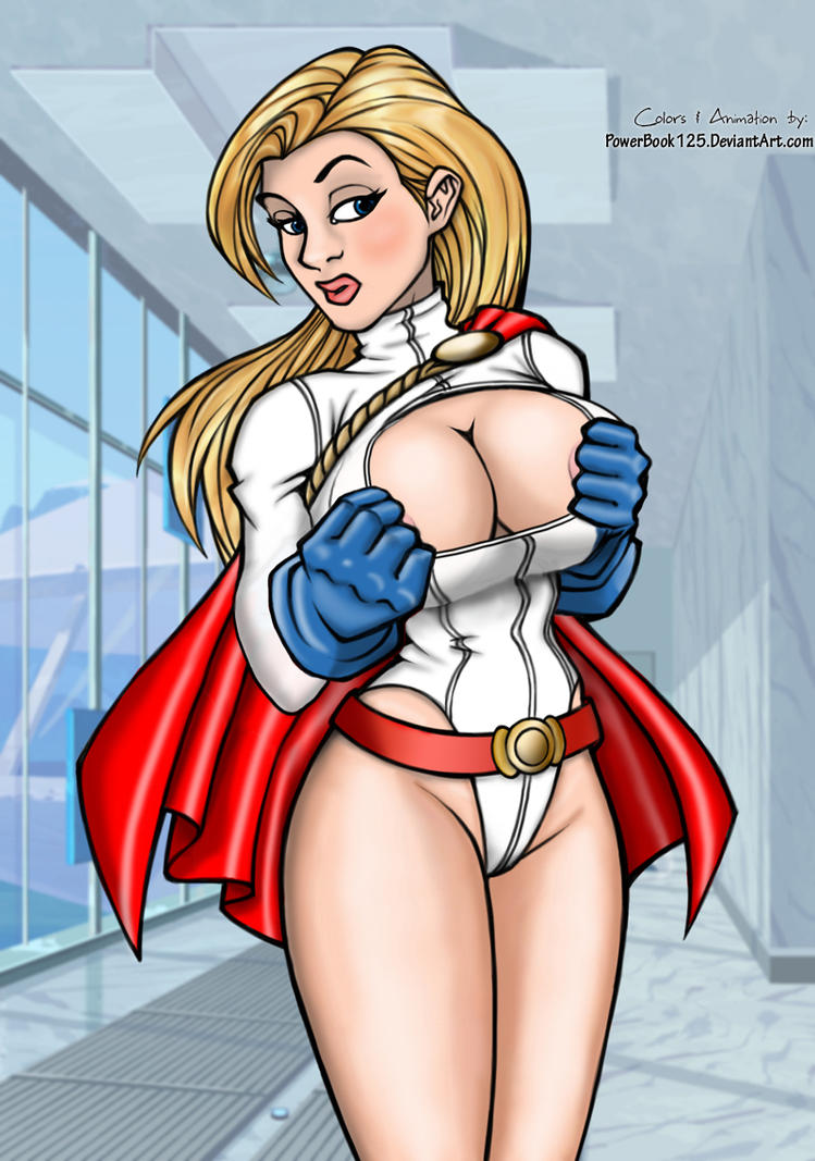 Power Girl pre-milk PG rated by powerbook125