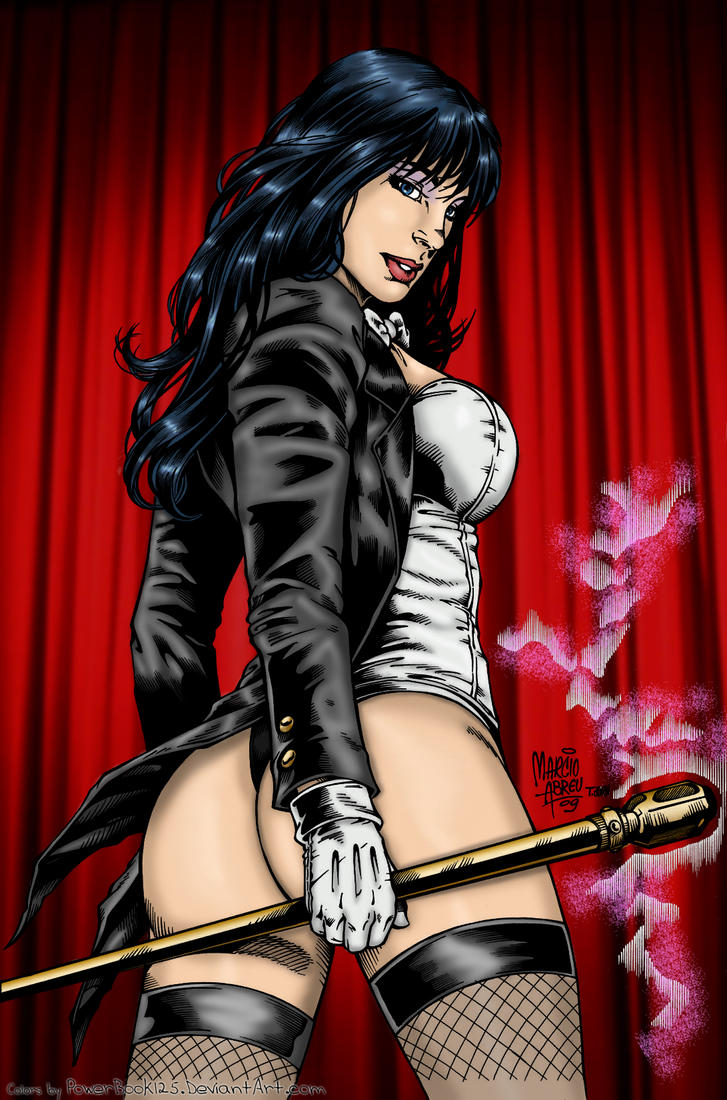 Zatanna's Magic Butt by powerbook125
