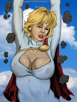 Crumble Power Girl By Dw Miller Colored