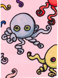 Octopus a day- day 2 by BunnehDemon