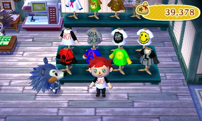 5 Seconds of Summer shirts in AC:NL by randomgirl1219