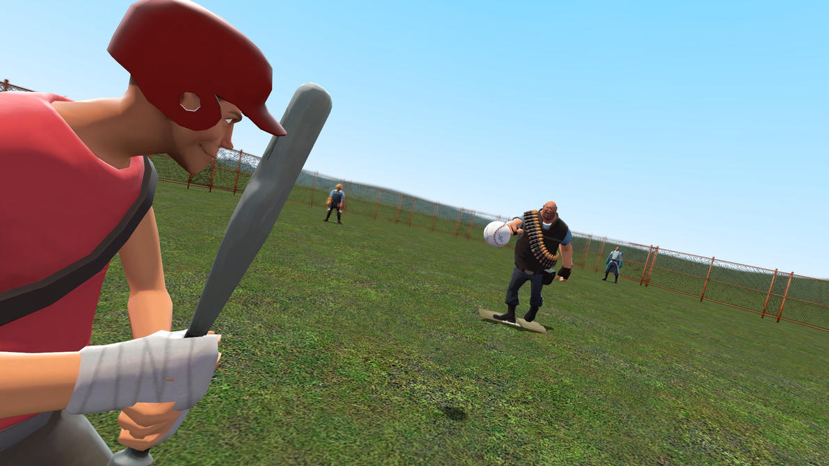 [Gmod] Baseball Game by ShinyMew112